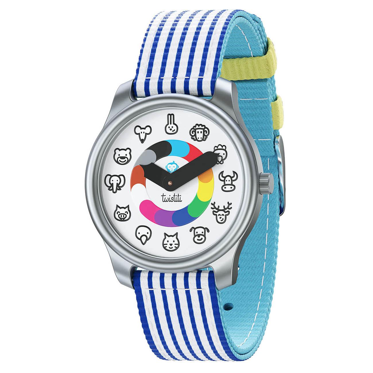 Animaux Marinière Bleu